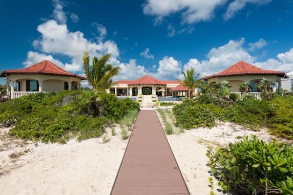 Rental Villa at Long Bay Beach